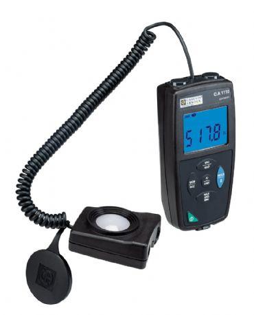 CA1110, Aydınlık Seviyesi (Işık) Ölçüm ve Kayıt Cihazı