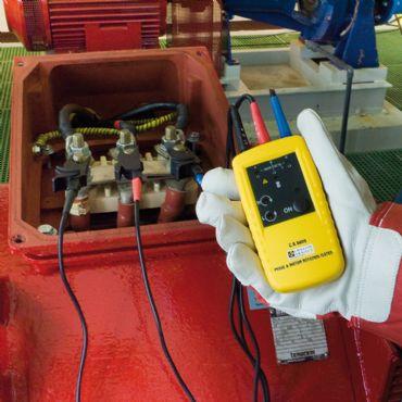 CA6609 Faz ve Motor Dönüş Yönü Test Cihazı