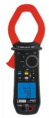 F607, 2000A TRMS Güç- Harmonik Pens Ampermetre