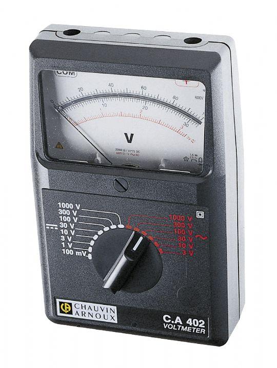 CA 402 Analog Voltmetre