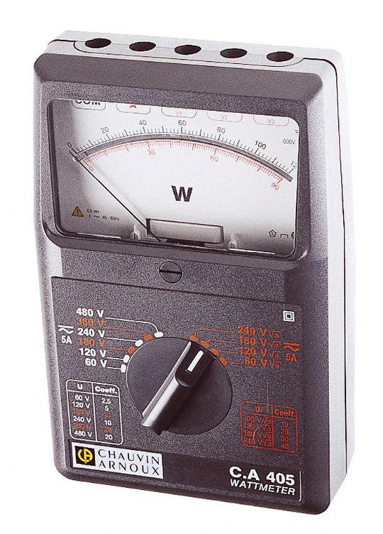 CA.405 Analog Wattmetre