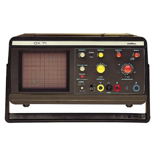 OX-71, 1 Kanal 10 MHz Analog Osiloskop
